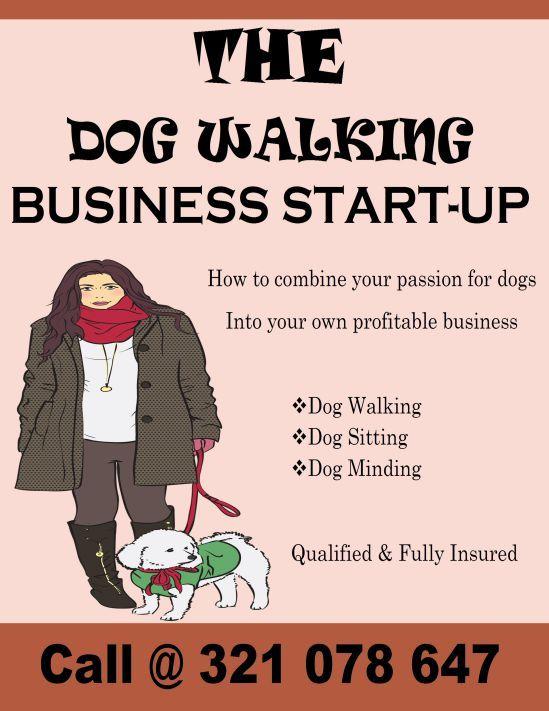 Dog Walking Business Start Up