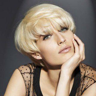 coupe courte blond platine franck provost - Coloration Blond Platine