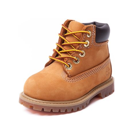 Shop for Toddler Timberland 6 Boot in Wheat at Journeys Kidz. Shop today for the hottest brands in mens shoes and womens shoes at JourneysKidz.com.The classic, waterproof 6 work boot from Timberland featuring a scuff proof leather upper.