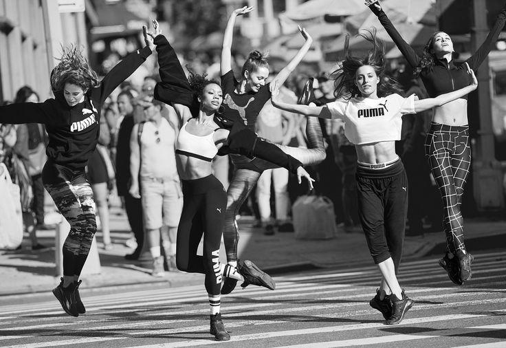 Meet the Fierce Ballerinas From Puma's New Campaign via @WhoWhatWear