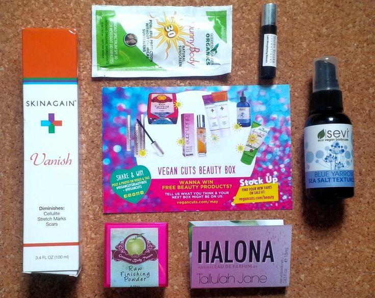 Natural Beauty : Vegan Cuts May Beauty Box 2014 Review
