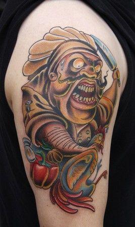 chef tattoo tattoos pinterest chef tattoo tattoo and tatoo. Black Bedroom Furniture Sets. Home Design Ideas