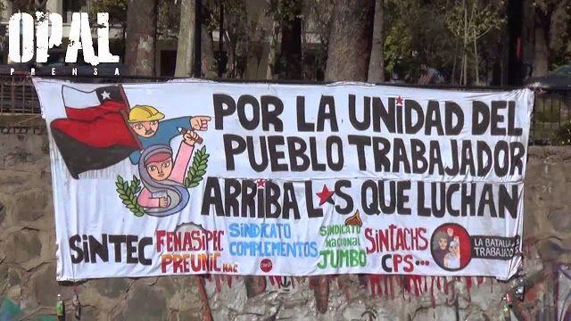 """Valparaíso, Chile: el gobierno """"progresista"""" de Bachelet reprime a obreros y…"""