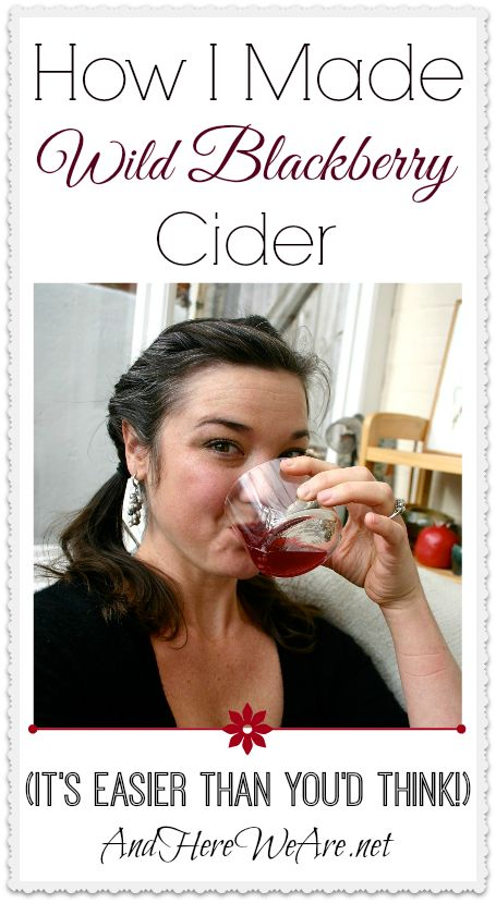 How I made Wild Blackberry Cider