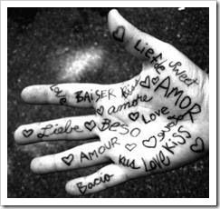 The hand of love.