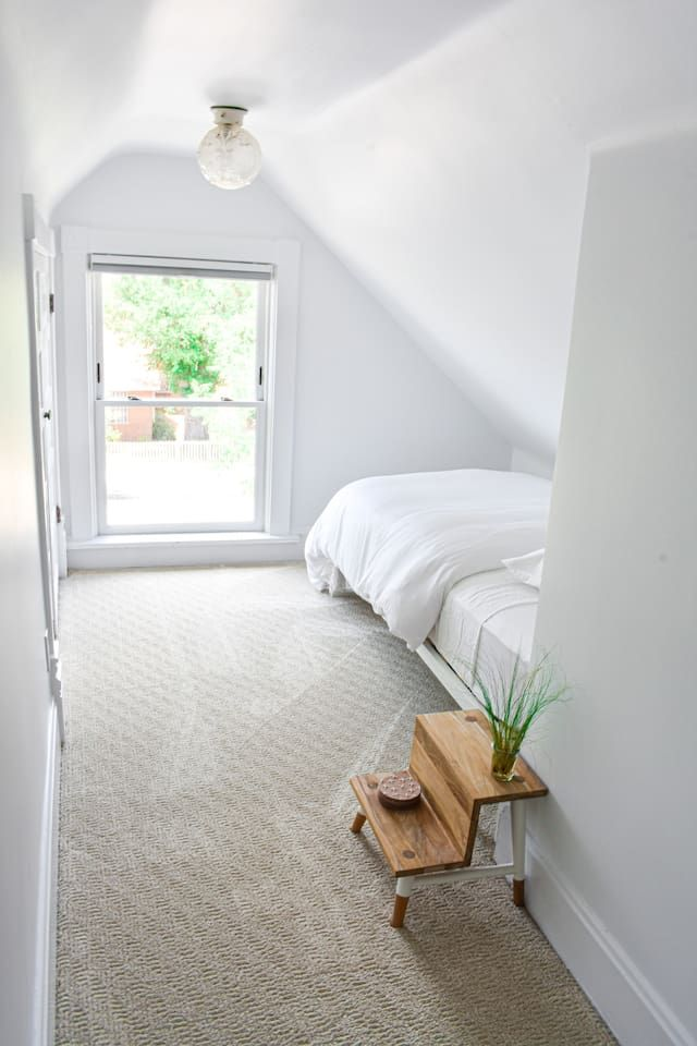 Private Attic Suite In Chic Edo Victorian Home Apartments For Rent In Albuquerque New Mexico United States Victorian Homes Apartments For Rent House Beds