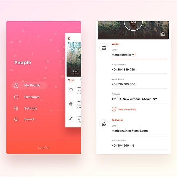 Wip - Social App by Nimasha Sewwandi Perera  #interface #mobile #design #application #ui #ux #webdesign #concept #userinterface #userexperience #inspiration #materialdesign #instaart #creative #dribbble #digitalart #behance #appdesign #sketch #designer #web #userflow #wireframe by myinterface