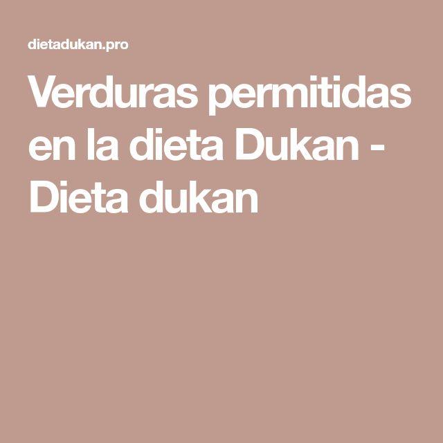 Verduras permitidas en la dieta Dukan - Dieta dukan