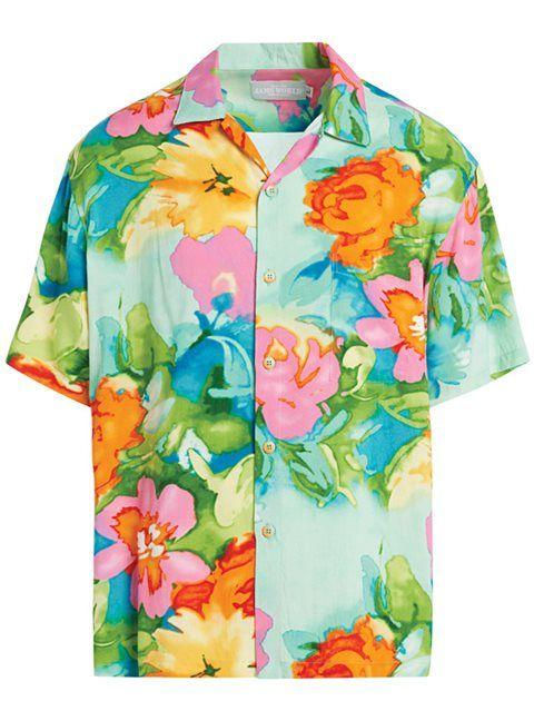 6b3ed2125 Cruise 2018] Parisian Garden Men's Hawaiian Shirt | Hawaiian Shirts ...