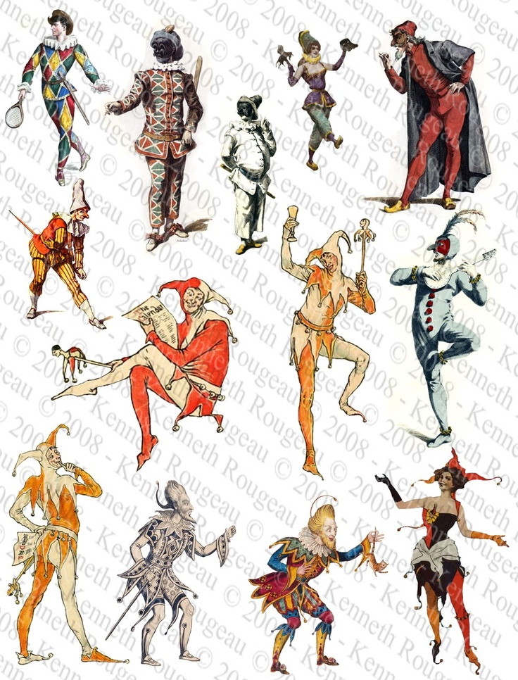Jesters, Jokers & Fools (No. 1)