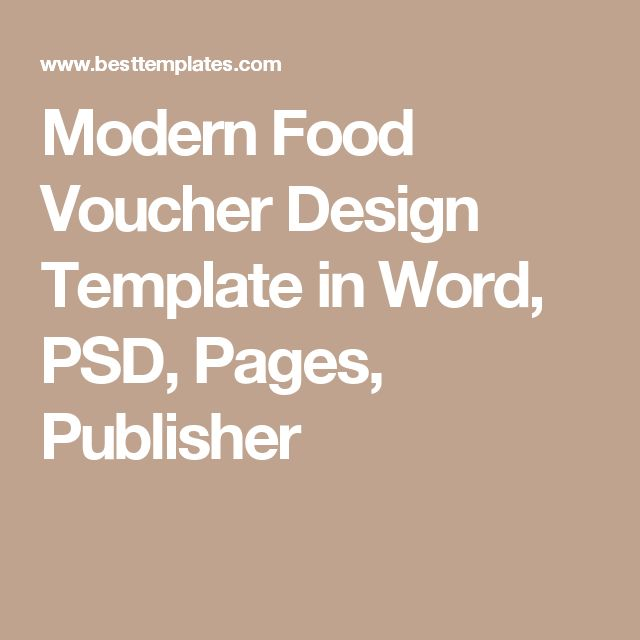 The 25+ best Voucher template word ideas on Pinterest Gift - coupon template word