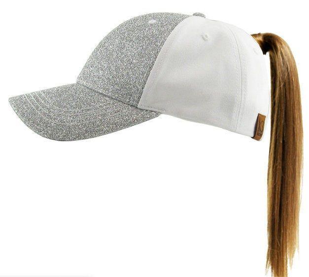Custom Messy BunPonytail Hat