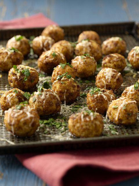 Chicken Meatballs Recipe from Ten Dollar Dinners by Melissa d'Arabian