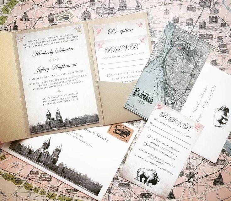 Hometown Henry Wedding Invitations