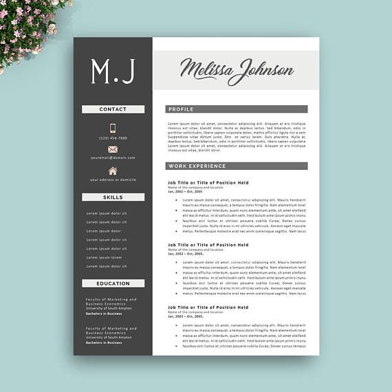 Brand Analyst Sample Resume 57 Best Best Resume Template Designs Images On Pinterest  Design .