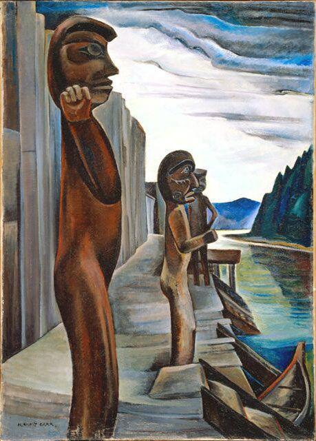 "Emily Carr - ""Blunden Harbour"", 1928-32"