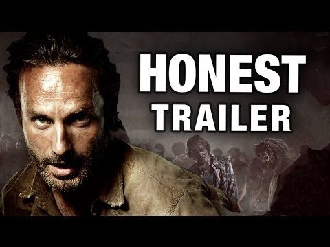 Honest Trailers - The Walking Dead Dale Face and Ugly Cry Face cracked me up!
