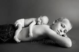 Siblings. #family #photography #siblings #newborn