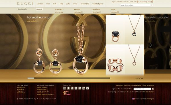 25 Brilliant Jewellery Website Designs