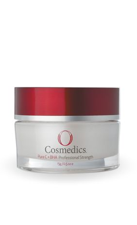 O cosmedics pure c powder. Add 1 scoop to face lotion daily