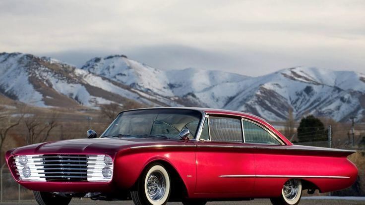 Ретро автомобили Ford 50-х-60-х