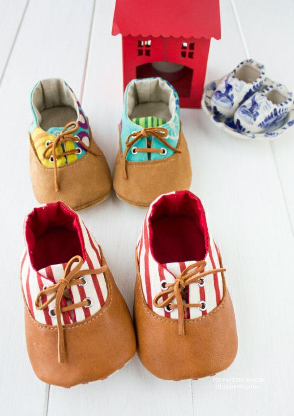 Kath Baby Shoes PDF Pattern