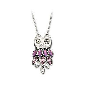 Owl Jewelry - Rougeberry Fashion. I have one exactly like this, only different colours! <3