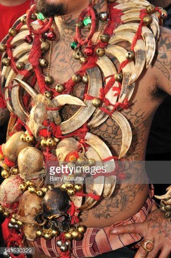 Stock Photo : Dayak Tribe festival in West Borneo Kalimantan
