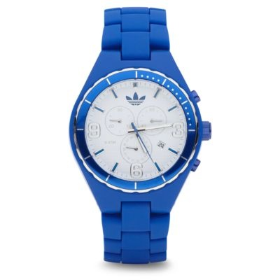 You know I love blue the most! adidas Cambridge Watch
