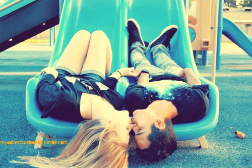 So cute.. I want a relationship like this.(: