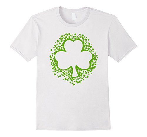 KIds St Patrick's Shamrock Clovers Paddy's Day Green Shirt