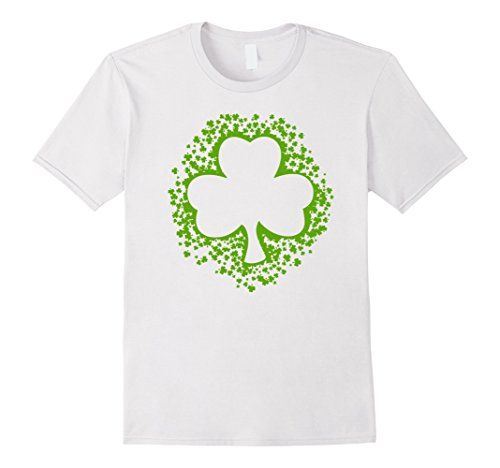 KIds St Patrick's Shamrock Clovers Paddy's Day Green Shirt