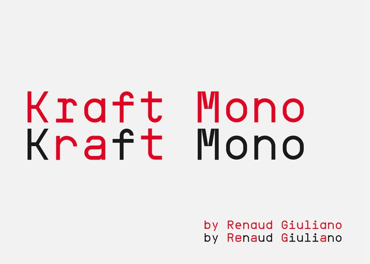 A monospaced, modern typeface, inspired by Space Mono and Belgian train stations signage.