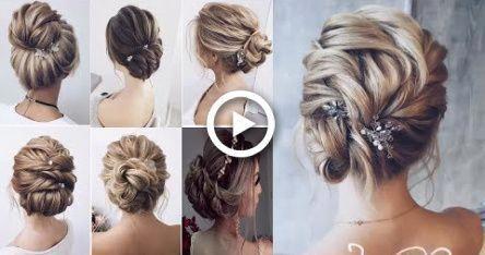 Holiday Hairstyles For Short Hair  ||  EASY UPDO Tutorials FOR SHORT HAIR ||  Ne