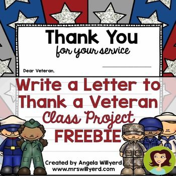 33 best images about veteran 39 s day ideas on pinterest for Veterans day thank you letter template
