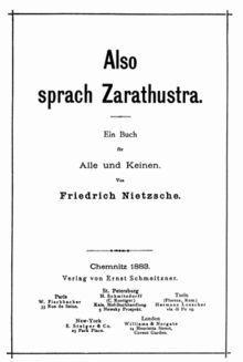 Tak pravil Zarathustra – Wikipedie