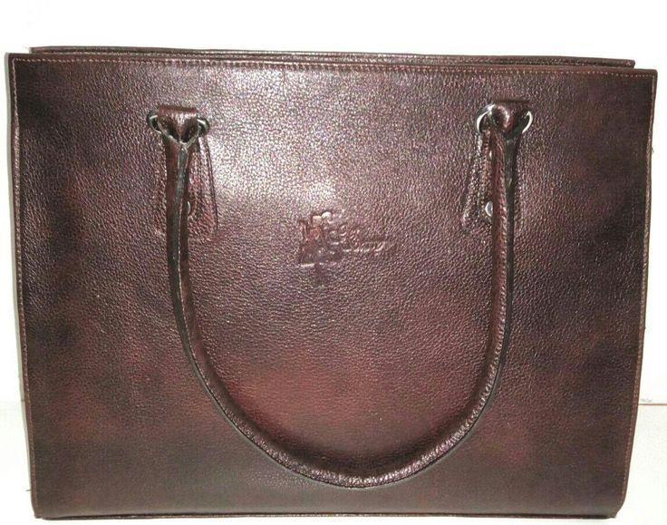Get Sassy Genuine Buffalo Leather Elegant Formal Everyday Handbag - Champaine Brown
