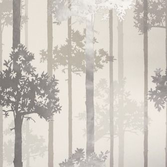 Vliesbehang bos zilver (dessin 30-441), alles voor je klus om je huis & tuin te verfraaien vind je bij KARWEI