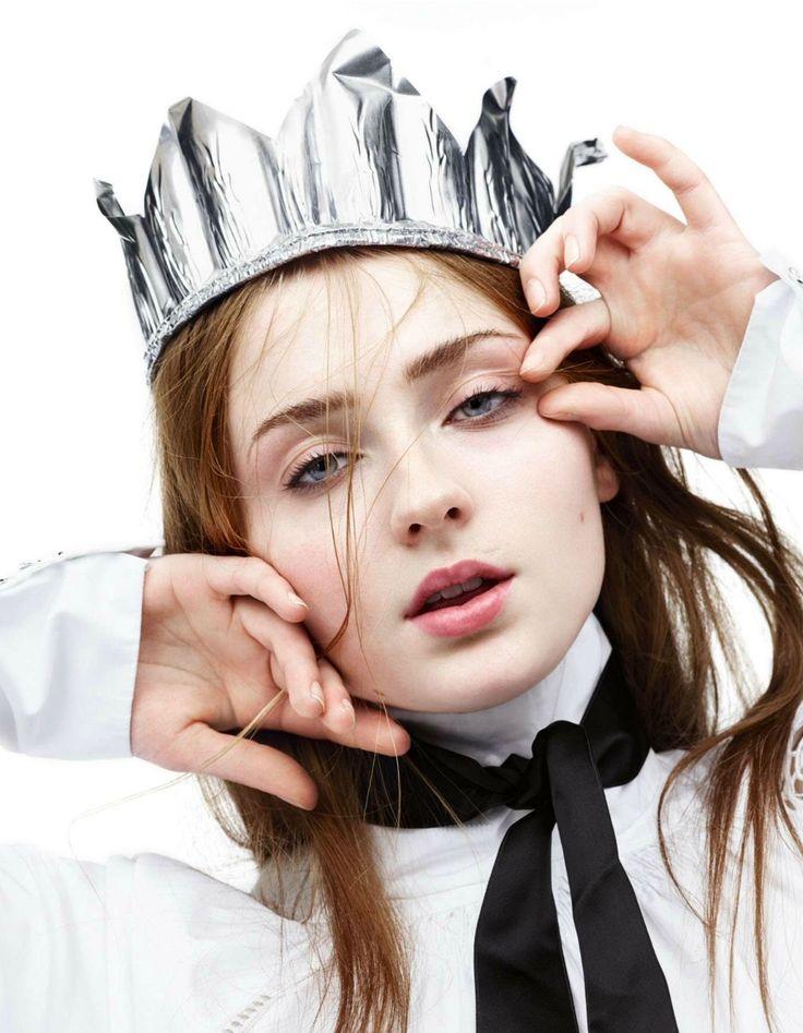 Sophie Turner for Interview Magazine Germany April 2015