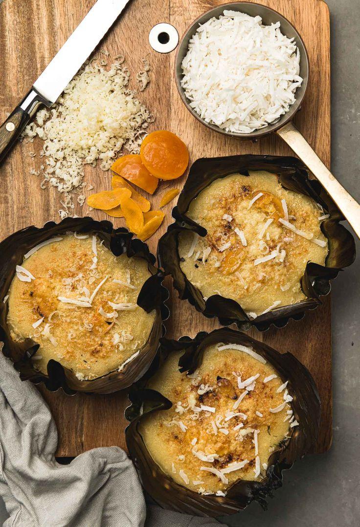 Bibingka filipino coconutrice cake recipe coconut