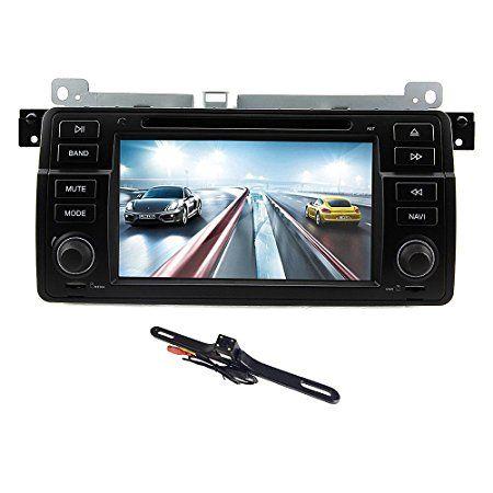 TOCADO 7'' Quad Core Android 5.1 Car GPS DVD for BMW E46 3 Series M3 with Bluetooth Radio WiFi Receiver & Backup Camera