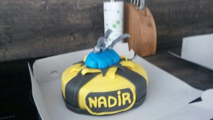 Wolverine taart voor Nadir