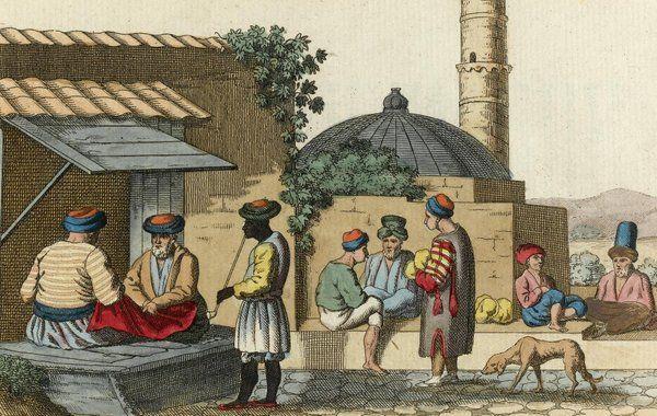 [Ottoman Empire] The Bazaar of Yenişehr-i Fener (Larissa, Greece), 1803 (Osmanlı Dönemi Yenişehr-i Fener)