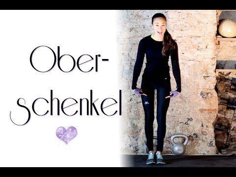 Schlanke Oberschenkel trainieren - Beste Übungen für Oberschenkel Innenseite - Karlas Abnehmtipps - YouTube
