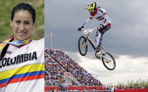 Colombia ganó el segundo oro olímpico de su historia con Mariana Pajón en BMX