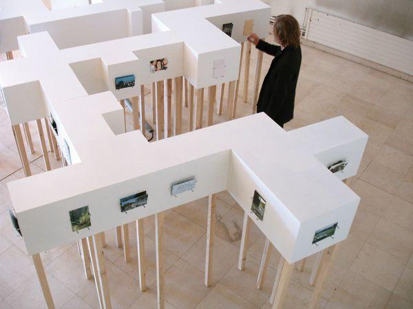 Documents D'Artistes Rhône-Alpes » Atelier BL119 » - séverine, 2007
