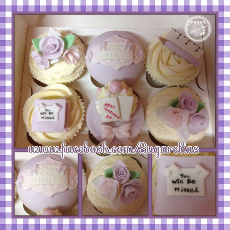 Teacher leaving cupcakes!