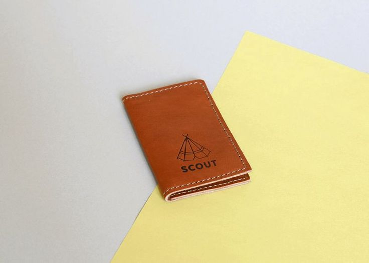 Scout Supply - Porte cartes en cuir