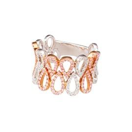 Mondial Neuman, Rose White Gold White Diamond Ring, $8,000.00, Shop 17, Ground Floor, QVB