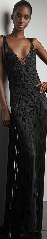 Ralph Lauren Crocheted Fringed Maxi Dress                                                                                                                                                                                 More